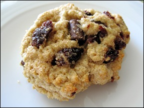 Chocolate Cherry Chunk Scones
