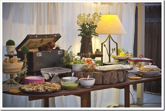 my rustic chic themed baby shower nhershoes