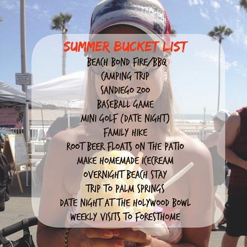 Weekend Wrap Up Summer Bucket List NHerShoes