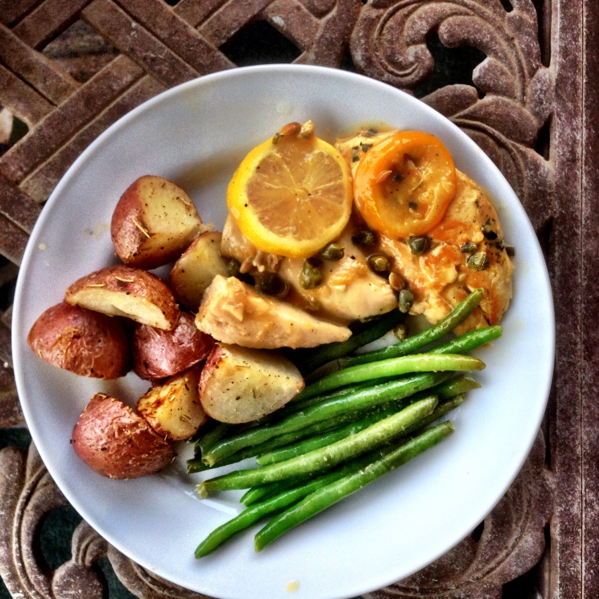 CHICKEN PICCATA. Adapted From Cooking Light Magazine Amazing Pictures